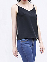 cheap -Women's Vintage Cotton Tank Top Strap