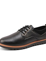 cheap -Men's Shoes Rubber Spring Summer Comfort Oxfords for Outdoor Black Yellow