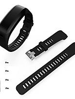 abordables -Bracelet de Montre  pour Vivosmart HR Garmin Bracelet Sport Silikon Sangle de Poignet