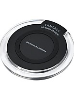 cheap -Wireless Charger Phone USB Charger USB Wireless Charger Qi Super Slim 1A DC 5V