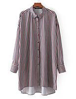 cheap -Women's Rayon Shirt Shirt Collar