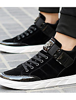cheap -Men's Shoes Nubuck leather Fall Winter Comfort Sneakers for Casual Outdoor Black Blue