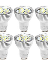 abordables -YouOKLight 6pcs 6W 500lm GU10 Spot LED 15 Perles LED SMD 5730 Décorative Blanc Chaud Blanc Froid 85-265V