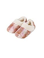cheap -Geometric Pattern Moccasin Slippers Women's Slippers Polyester Terylene Animal Print