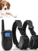cheap -Dogs Bark Collar Dog Training Collars Waterproof Rechargeable No Harm To Dogs or other Pets Micro Electric Shock Vibrating Plastics Nylon