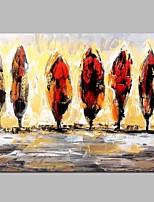 abordables -Pintura al óleo pintada a colgar Pintada a mano - Paisaje Clásico Lona