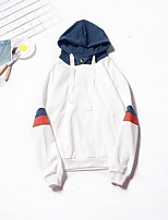 cheap -Men's Hoodie - Solid, Pleated