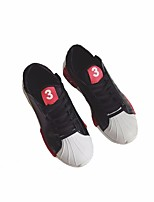 cheap -Men's Shoes PU Spring Fall Comfort Sneakers for Casual White Black Red
