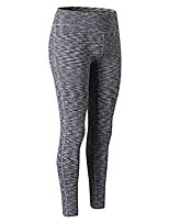 cheap -Women's Running Tights Breathability Pants / Trousers Exercise & Fitness Polyester Black Purple Green Blue Red/White XS S M L XL