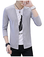 cheap -Men's Casual Cardigan - Solid Colored