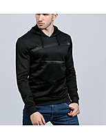 cheap -Men's Slim Hoodie - Striped Hooded