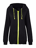 cheap -Men's Women's Sports Hoodie - Solid Hooded