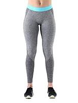 preiswerte -Damen Laufhosen Atmungsaktivität Strumpfhosen/Lange Radhose Yoga Übung & Fitness Polyester Rot Blau S M L XL
