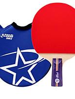 economico -1 Stella Ping-pong Racchette Ping Pang Gomma da cancellare Manopola corta Brufoli DHS®