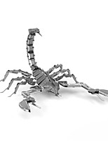 cheap -3D Puzzles Metal Puzzles Scorpion Creative Focus Toy Hand-made Metal 1pcs Standing Style Animals Toy Kid's Adults' Girls' Boys' Gift