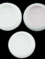 cheap -3pcs Powder Transparent Acrylic Powder Nail Art Tool