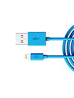 Недорогие -Подсветка Адаптер USB-кабеля Компактность Высокая скорость Назначение iPhone 100 cm Нейлон