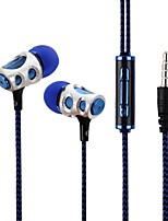 cheap -LS3B141A In Ear Wire Headphones Dynamic Acryic/Polyester Sport & Fitness Earphone Headset