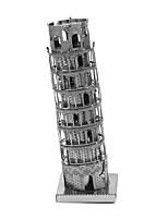 cheap -3D Puzzles Metal Puzzles Creative Focus Toy Hand-made Metal Architecture Standing Style Toy Gift