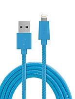 economico -Illuminazione Adattatore cavo USB Carica rapida Alta velocità Cavi Per iPhone 150 cm PVC