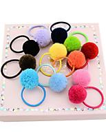 cheap -Hair Bands Hair Accessories Polyester/Polyamide Wigs Accessories Girls' 12pcs pcs cm Daily Cute Kids