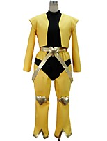 cheap -Inspired by JoJo's Bizarre Adventure Cosplay Anime Cosplay Costumes Cosplay Suits Other Long Sleeves Top Pants More Accessories For Men's
