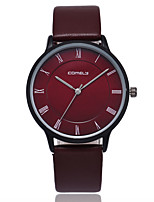 cheap -Women's Quartz Fashion Watch Casual Watch PU Band Casual Minimalist Black Red Dark Green