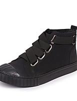 abordables -Homme Chaussures Cuir Nubuck Printemps Automne Confort Basket pour Décontracté De plein air Noir
