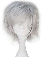 cheap -Cosplay Wigs Tokyo Ghoul Ken Kaneki Anime Cosplay Wigs 32 CM Heat Resistant Fiber All