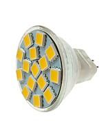 Недорогие -SENCART 1шт 5 Вт. 260 lm MR11 Точечное LED освещение MR11 15 светодиоды SMD 5060 Декоративная Тёплый белый Холодный белый DC 12 В