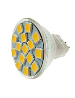 abordables -SENCART 1pc 5W 260lm MR11 Spot LED MR11 15 Perles LED SMD 5060 Décorative Blanc Chaud Blanc Froid 12V