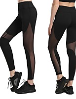 abordables -Pantalon de yoga Leggings Collants Yoga Séchage rapide Taille Normale Haute élasticité Vêtements de sport Femme Yoga Exercice & Fitness