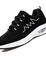 cheap -Men's Shoes Tulle Net Spring Summer Light Soles Comfort Sneakers for Casual Black/White Black/Red