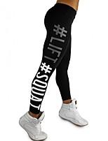 abordables -Pantalon de yoga Collants Avion-école Yoga Séchage rapide Fitness Taille médiale strenchy Vêtements de sport Femme Yoga Exercice & Fitness