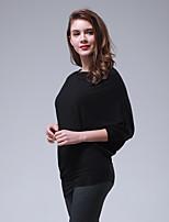 abordables -Danse latine Hauts Femme Entraînement Utilisation Viscose Combinaison Manches Longues Taille moyenne Haut