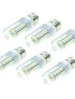 preiswerte -SENCART 6pcs 4W 800-1200lm E14 G9 E26 / E27 B22 LED Mais-Birnen T 36 LED-Perlen SMD 5730 Dekorativ Warmes Weiß Weiß 12V 220-240V
