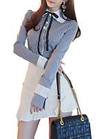 cheap -Women's Vintage Shirt Skirt