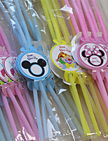 cheap -Birthday Party Party Tableware - Straws Patterned PP (Polypropylene) Hard Card Paper Birthday
