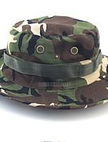 cheap -Men's Casual Cotton Straw Hat - Patchwork, Rivet