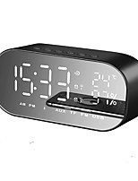 cheap -S2 Speaker Bluetooth Speaker Bluetooth 4.2 Audio (3.5 mm) Wine Glass World Clock Black Gray Rose