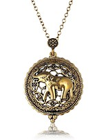 Недорогие -Муж. Ожерелья с подвесками - Классика, Богемные, Этнический Античная бронза Ожерелье Бижутерия 1 Назначение Официальные, Праздники