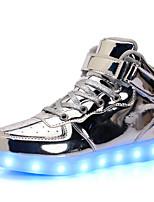 Недорогие -Мальчики / Девочки Обувь Полиуретан Весна & осень / Весна Удобная обувь / Обувь с подсветкой Спортивная обувь Беговая обувь / Для прогулок Шнуровка / LED для Дети / Для подростков / 3D