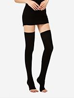 abordables -Mujer Calcetín Medio-Un Color
