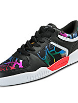 cheap -Men's Shoes Rubber Spring Fall Comfort Sneakers for Outdoor White Gray Black/Red