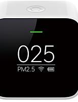 Недорогие -xiaomi pm2.5 детектор качества воздуха монитор перезаряжаемый oled цифровой дисплей умный домашний контроль ваш светильник из любого места компактный