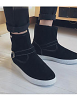 cheap -Men's Shoes Leatherette Winter Fall Snow Boots Comfort Boots Booties/Ankle Boots for Casual Black Yellow Blue