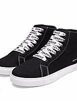 cheap -Men's Shoes Canvas Spring Summer Comfort Sneakers for Casual White Yellow