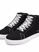 abordables -Homme Chaussures Toile Printemps Eté Confort Basket pour Décontracté Blanc Jaune