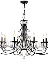 cheap -LightMyself™ Nature Inspired Modern / Contemporary Chandelier Ambient Light - Crystal, 110-120V 220-240V Bulb Not Included