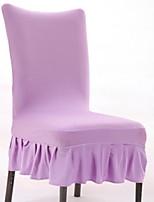 abordables -Moderne 100% Polyester Jacquard Housse de chaise Couleur Pleine Impression pigmentaire Literie
